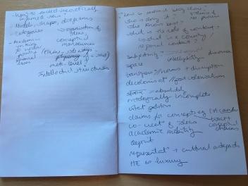 discussant notes