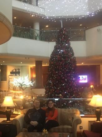EH & JB Xmas tree (1)
