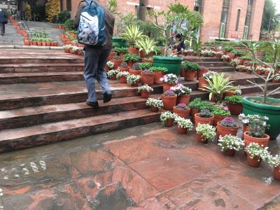 IHC entrance Delhi